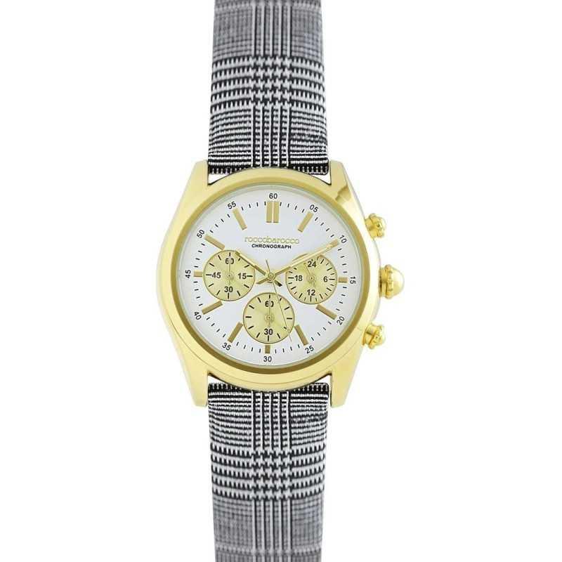 Cronografi Orologio roccobarocco classy gold crono Roccobarocco