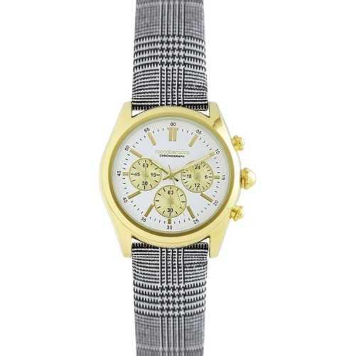 Orologio roccobarocco classy gold crono