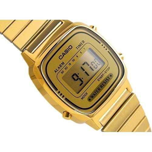 Orologio Casio Vintage Gold donna Casio Orologi Digitali donna LA670WGA-9DF
