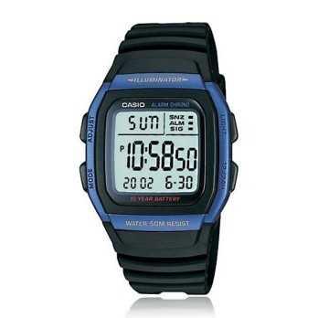 Orologio Casio Digitale LCD  Orologi Digitali uomo W-96H-2AVDF