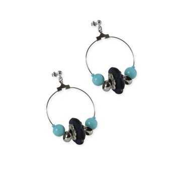 Orecchini con perle di Murano