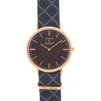 Orologio con polsino sartoriale bluColonna Orologi Eleganti 110,00€ C32G00RTIM