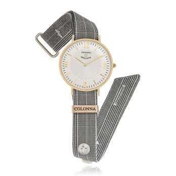 Orologio con polsino sartoriale grigioColonna Orologi Eleganti 100,00€ C22005LGA