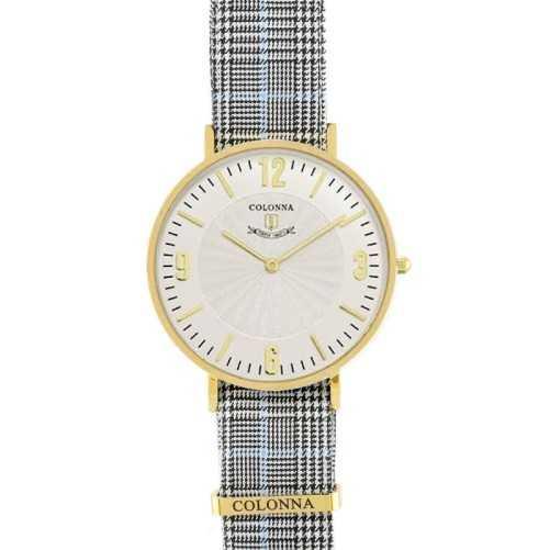 Orologio con polsino sartoriale marroneColonna Orologi Eleganti 100,00€ C22005LGAM