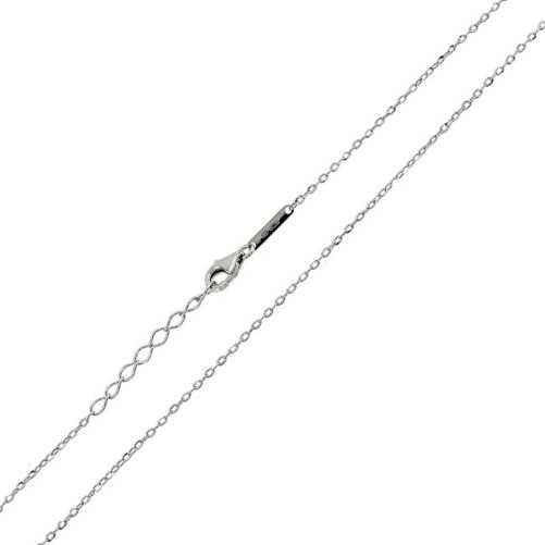 Catenina in argento 45 cm. UnoaerreUnoaerre Silver jewellery Catene e catenine 9,00€ 1R-AG1021