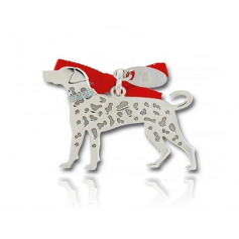 Ciondolo Cane Dalmata Unoaerre Silver jewellery Happy Pets 1R-AG1134