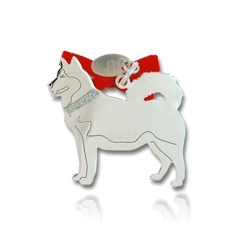 Happy Pets Ciondolo Cane Husky Unoaerre Silver jewellery