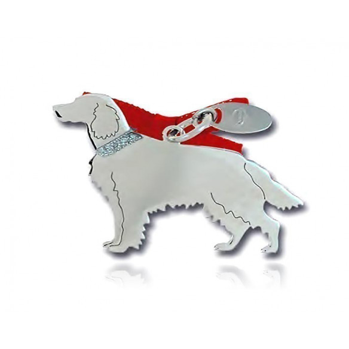 Ciondolo Cane Setter Inglese Unoaerre Silver jewellery Happy Pets 1R-AG1133