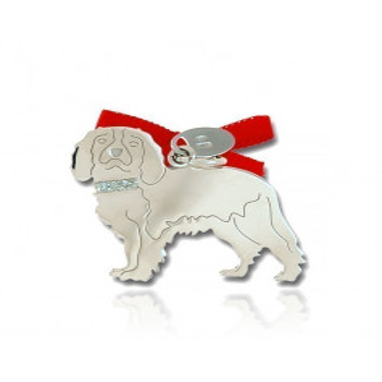 Happy Pets Ciondolo Cane Cavalier King Unoaerre Silver jewellery