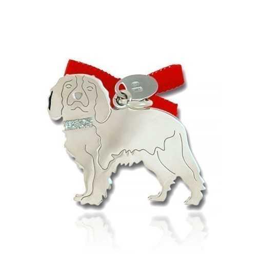 Ciondolo Cane Cavalier King Unoaerre Silver jewellery Happy Pets 1R-AG1131