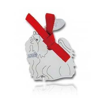 Happy Pets Ciondolo Cane Maltese Unoaerre Silver jewellery