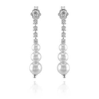 Gioielli con Perle Orecchini pendenti con perle Alexia Gioielli