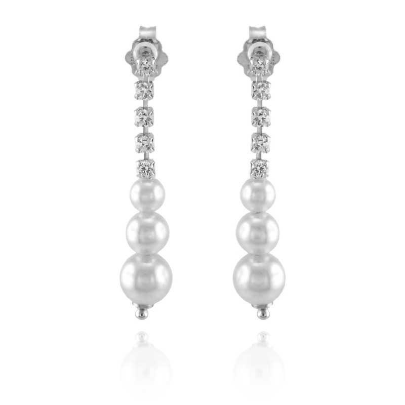 Orecchini Perle Orecchini pendenti con perle Alexia Gioielli