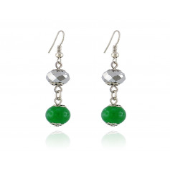 Orecchini Donna Orecchini con pietra verde Zoppi Gioielli - Multibrand