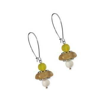 Orecchini con perle di Murano pendenti Osa jewels Promozioni 70106