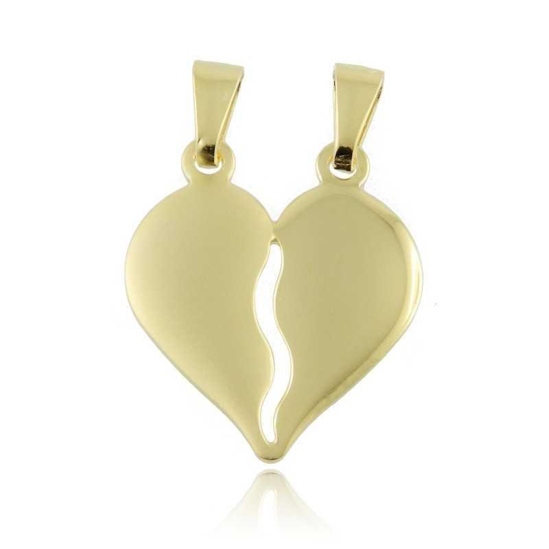 Cuore divisibile in argento dorato Puca Jewels Ciondoli PJ-CNL06AG