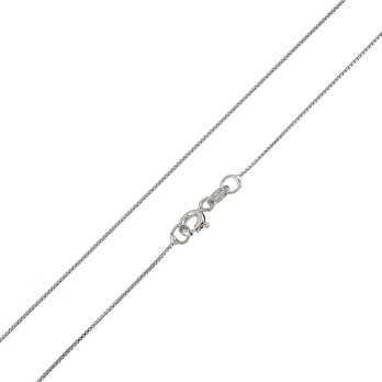 Catenina in argento 45 cm
