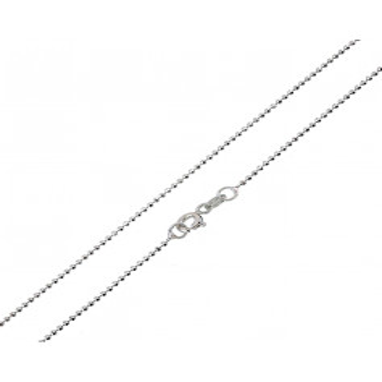 Catene e catenine Catenina in argento 50 cm a pallini Zoppi Gioielli - Multibrand