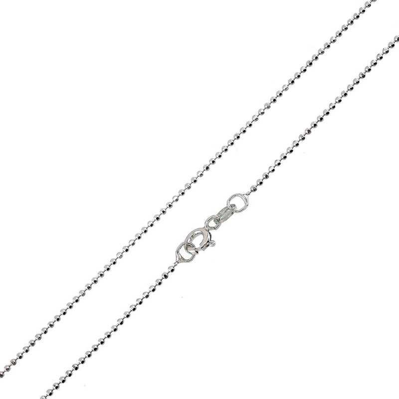 Catenina in argento 50 cm a pallini Zoppi Gioielli bijoux Catene e catenine CT210AG50P