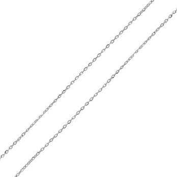 Catenina in argento 40 cm Rolò diamantata Zoppi Gioielli bijoux Catene e catenine CT255AG40R
