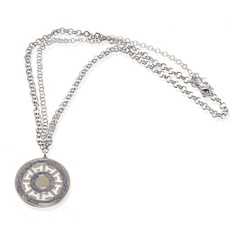 Collana con ciondolo diamantato I Think Jewels Collane Donna ITJ-CL111