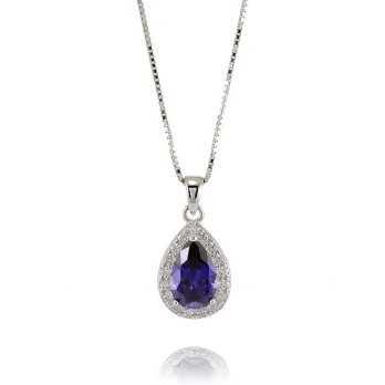 Collana con Ametista in argento Zoppi Gioielli bijoux Collane Donna GD-CL70AG3