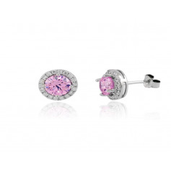 Orecchini con pietra rosa Zoppi Gioielli bijoux Orecchini Donna GD-OR80AG3
