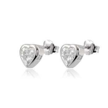 Orecchini a cuore in argento Zoppi Gioielli bijoux Orecchini Donna GD-OR60AG8