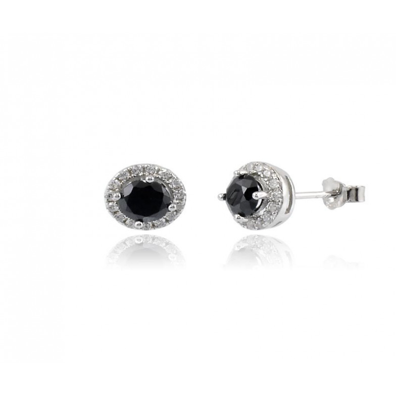 Orecchini con pietra nera Zoppi Gioielli bijoux Orecchini Donna GD-OR70AG9