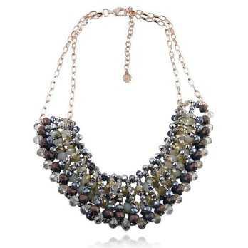 Collana bavaglino con pietre Lizas jewellery Promozioni LZ-23892CL