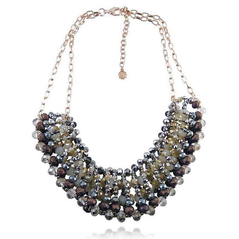 Collana bavaglino con pietreLizas jewellery Promozioni 24,00€ LZ-23892CL