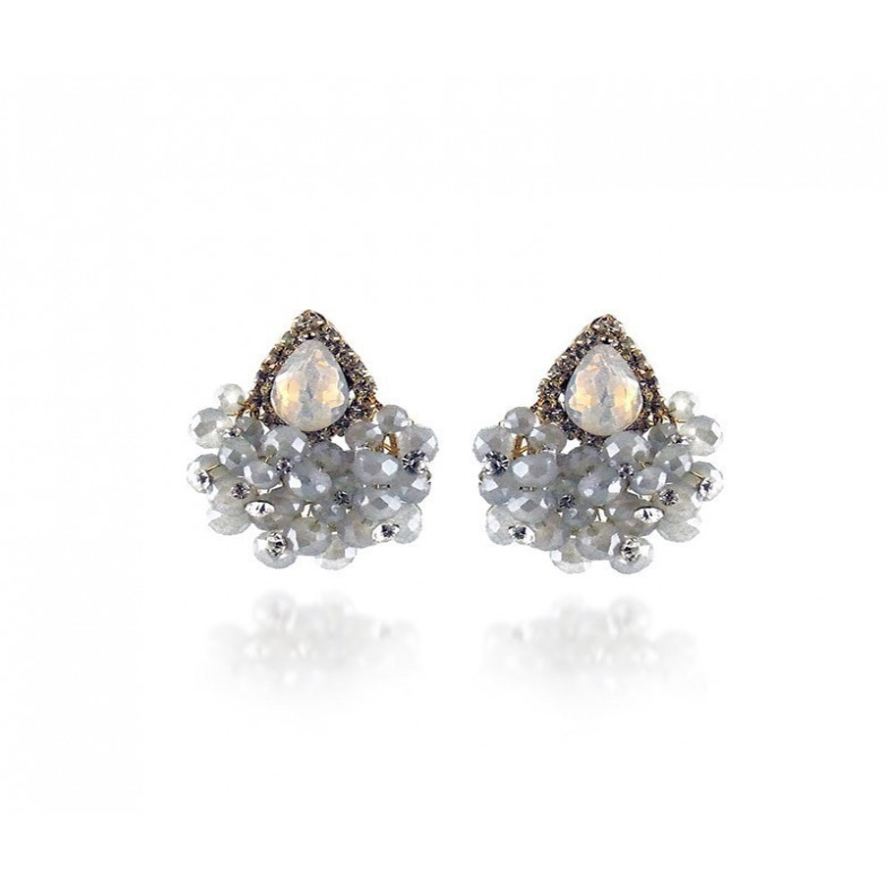 Orecchini toppe con pietre Lizas jewellery Promozioni LZ- 33931