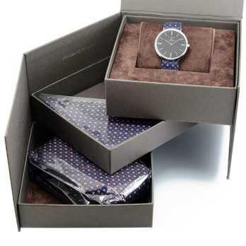 Orologio Coordinato cravatta e pochette Eleganti 200,00€ product_reduction_percent