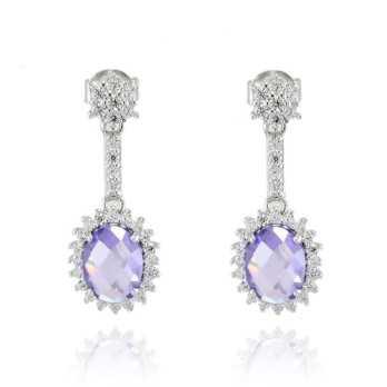 Orecchini pendenti con ametista Zoppi Gioielli bijoux Orecchini Donna GD-OR11AG18