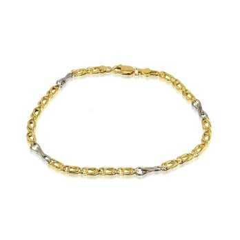 Bracciale a catena in oro Zoppi Gioielli jewelry Bracciali Uomo BR-350/OU108