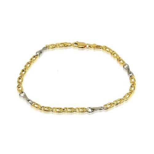 Bracciale a catena in oro
