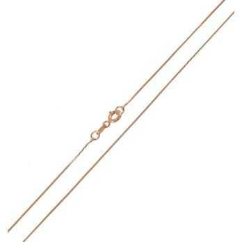 Catenina in argento rosè 45cm