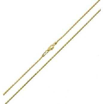 Catenina a funetta in argento dorato 45cm Alexia Gioielli Catene e catenine RB-CT150AG45GF