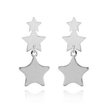 Orecchini pendenti stelle in argento Zoppi Gioielli bijoux Orecchini Donna OR40AG