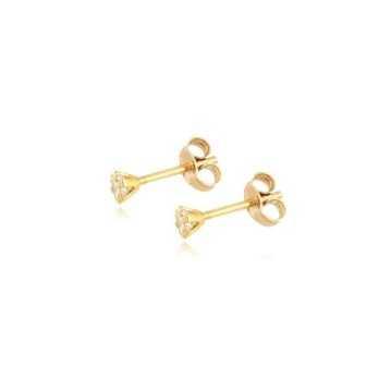 Orecchini punto luce in oro giallo Zoppi Gioielli jewelry Orecchini Donna OR40AU