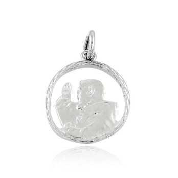 Medaglia San Pio in argento