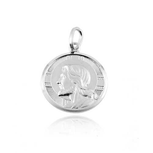 Medaglia Gesù in argento