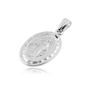 Croci e Medaglie Medaglia Miracolosa in argento Alexia Gioielli