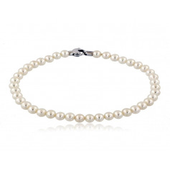 Bracciali perla Bracciale di perle 4,5-6 terminali in oro Zoppi Gioielli