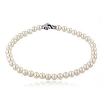 Bracciale di perle 4,5-6...