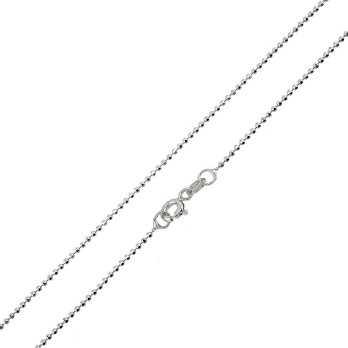 Catene e catenine Catenina in argento 45 cm a pallini Alexia Gioielli