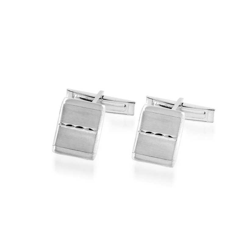 Gemelli da polso in argento Puca Jewels Accessori Uomo MP-GM310/S