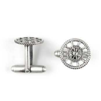 Gemelli da polso Timone in argento Zoppi Gioielli bijoux Accessori Uomo DA-PO44/a