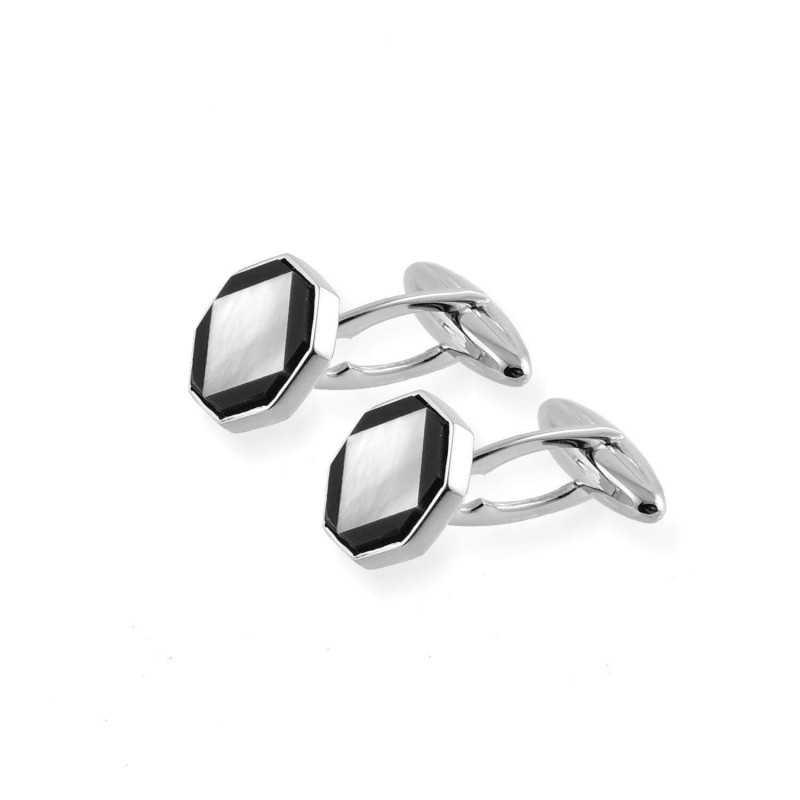 Gemelli in oro e madreperla Zoppi Gioielli jewelry Accessori Uomo GM-750B/4