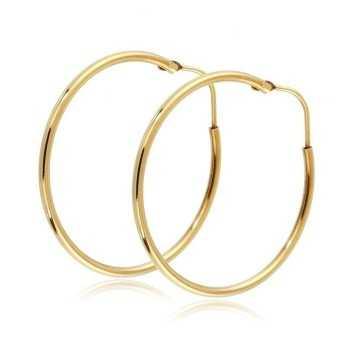 Orecchini Cerchio 33mm in oro giallo Orecchini Donna 280,00€ product_reduction_percent